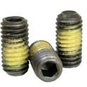 Steel Cup Point Set Screw With Nylon Patch -