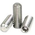 Stainless Steel 18-8 Flat Point Set Screw -
