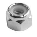 18-8 Stainless Steel Nylon Lock Nuts -