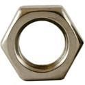 Stainless Steel Hex Jam Nuts -