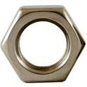 Stainless Steel Hex Jam Nuts -