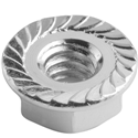 Serrated Flange Nuts -