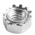 Toothed Flange Nuts -