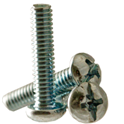 Round Head Machine Screws -