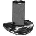 Curved Flange Down -
