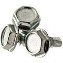 Indented Hex Washer Head, Self Drillling Screw -