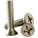 Flat Head Machine Screws, Stainless -