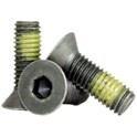 Flat Socket Cap Steel with Nylon Patch -